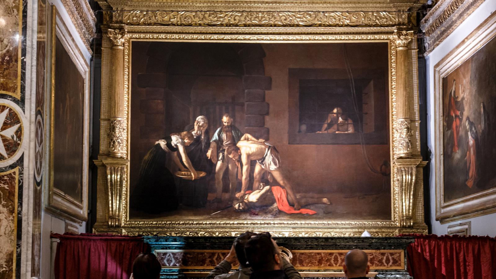 È a Malta il più grande dipinto mai realizzato da Caravaggio