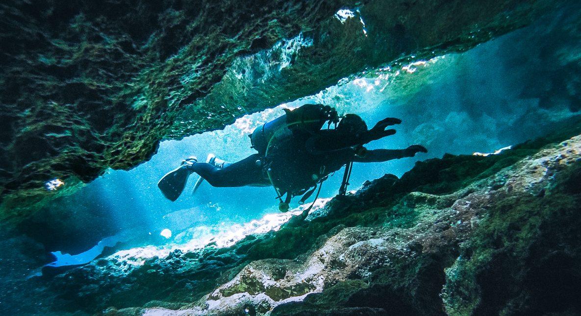 Ghar Lapsi diving malta