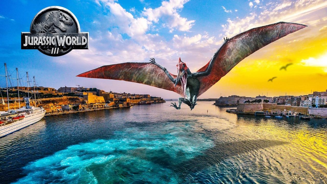 Avvistati i dinosauri di Jurassic World a Malta!