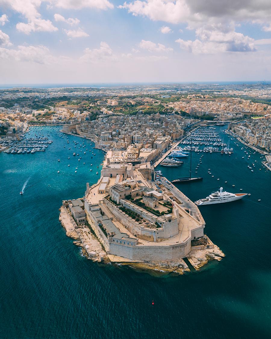 fort st angelo Malta