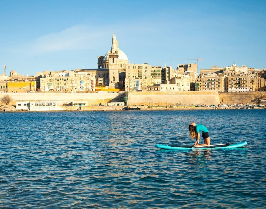 Sup yoga Malta