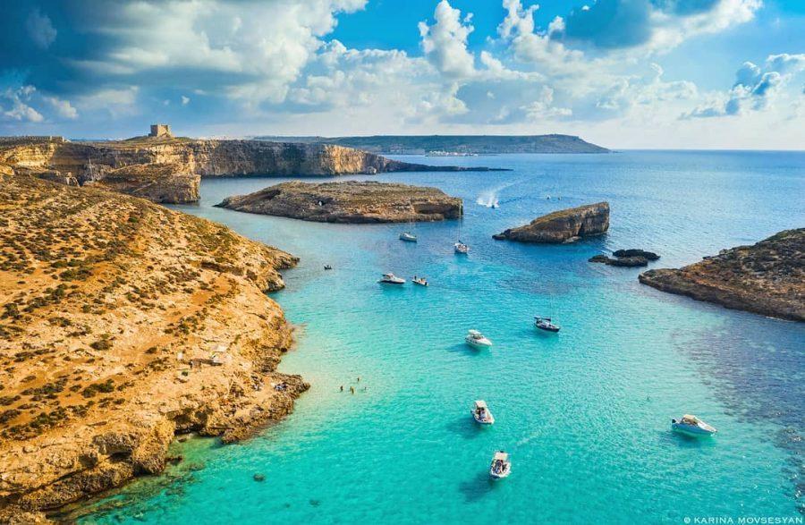 Malta comino blue lagoon
