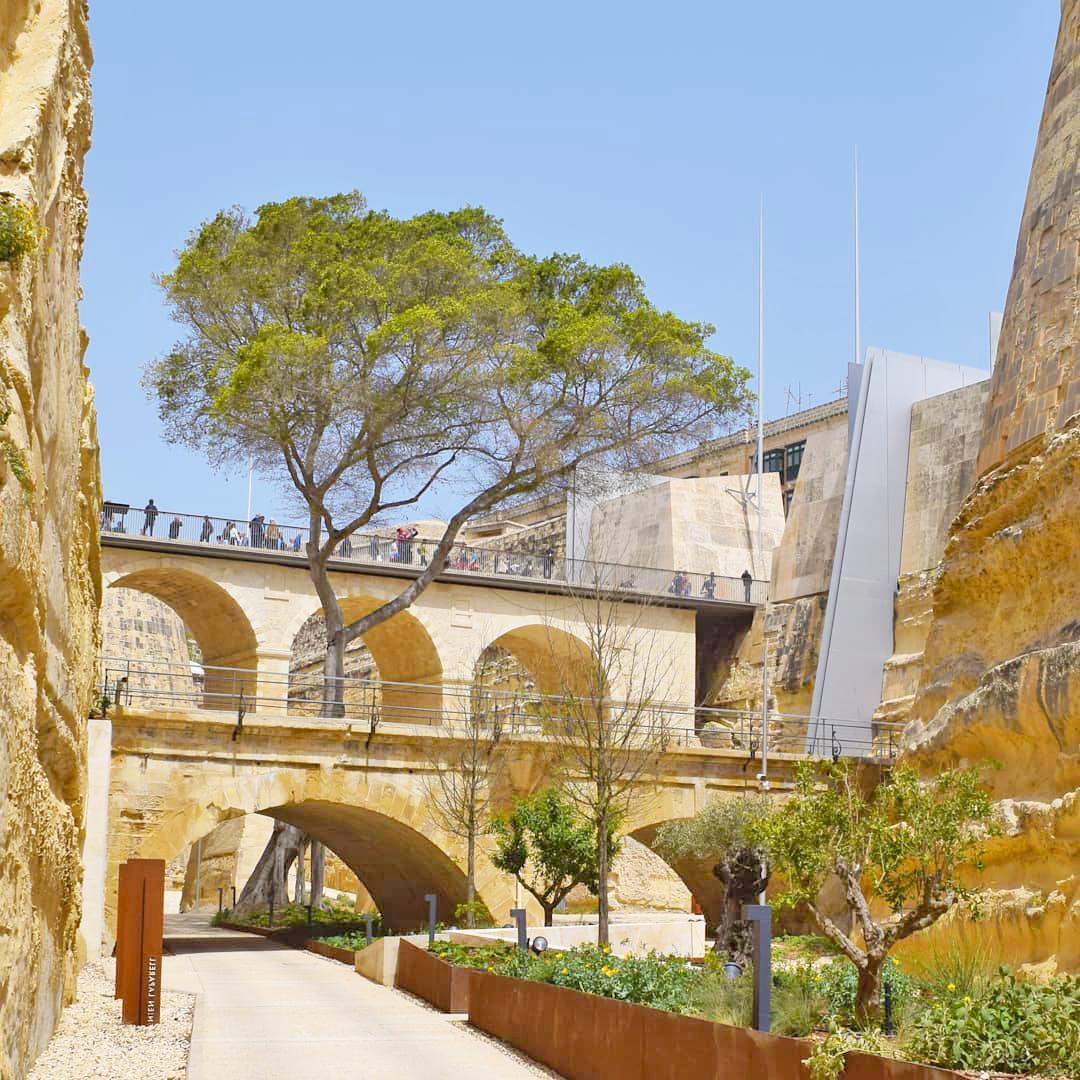 gnien laparelli gardens Valletta