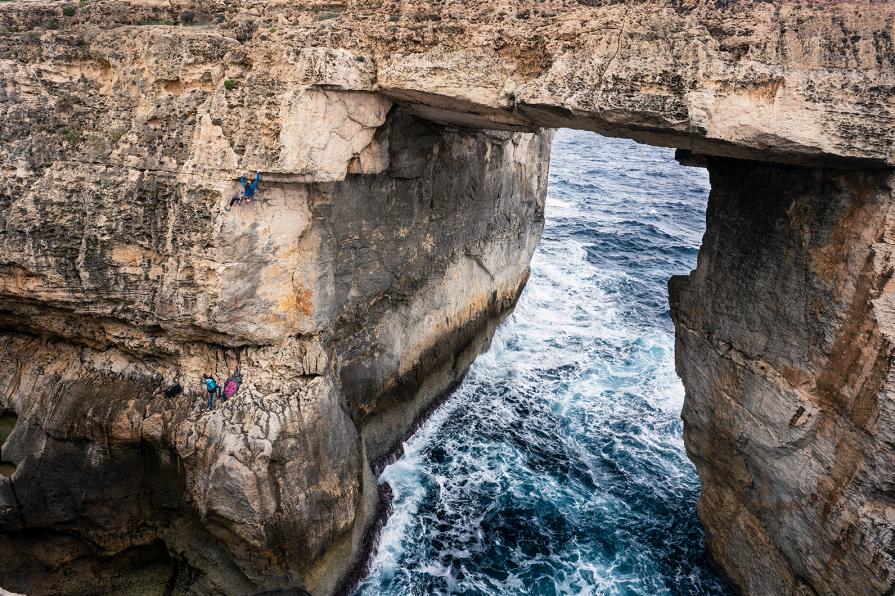 Gozo malta Rock Climbing
