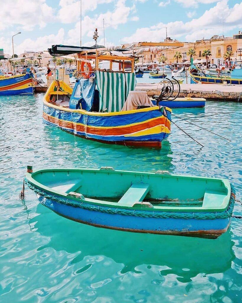 Passeggiate a Malta Marsaxlokk