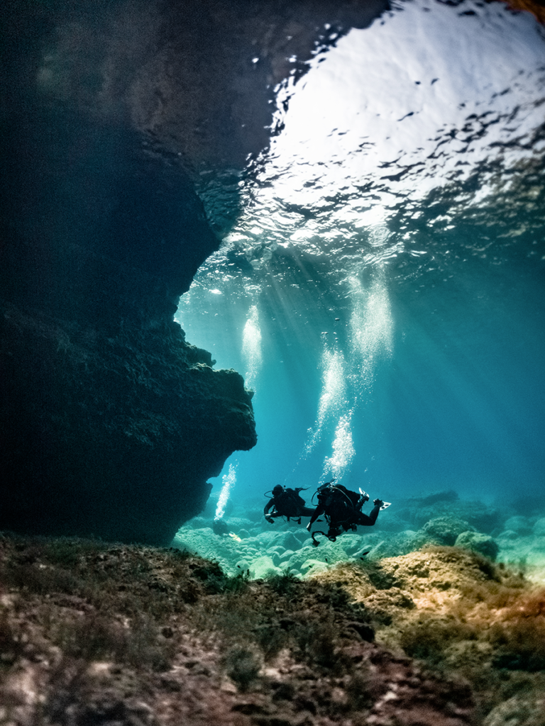 Diving a Malta