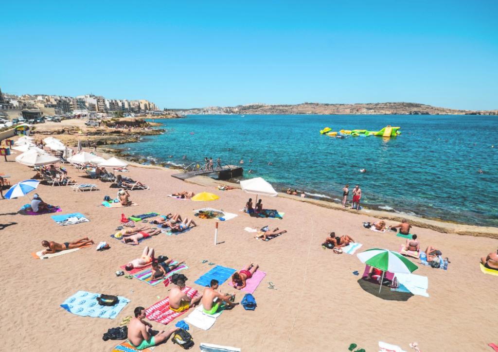 bugibba-beach Malta