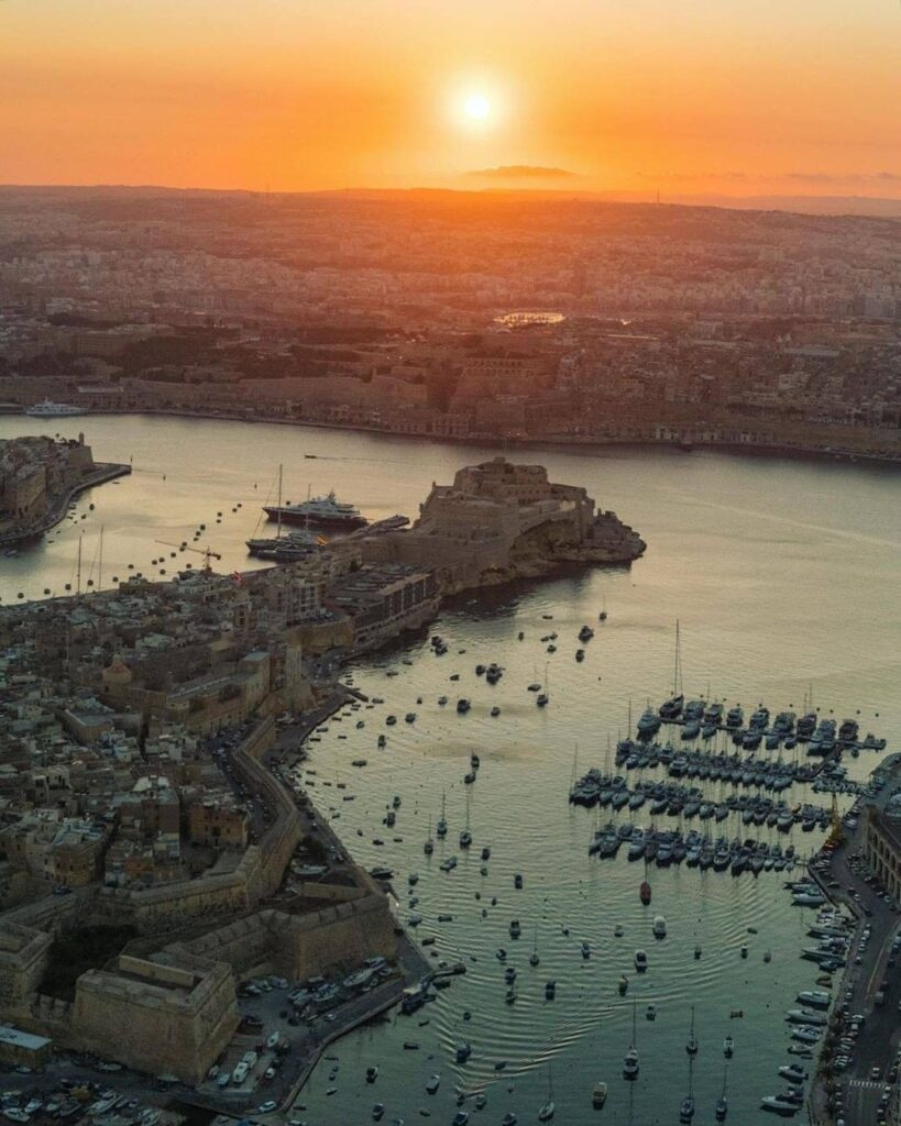 Grbad Harbour malta