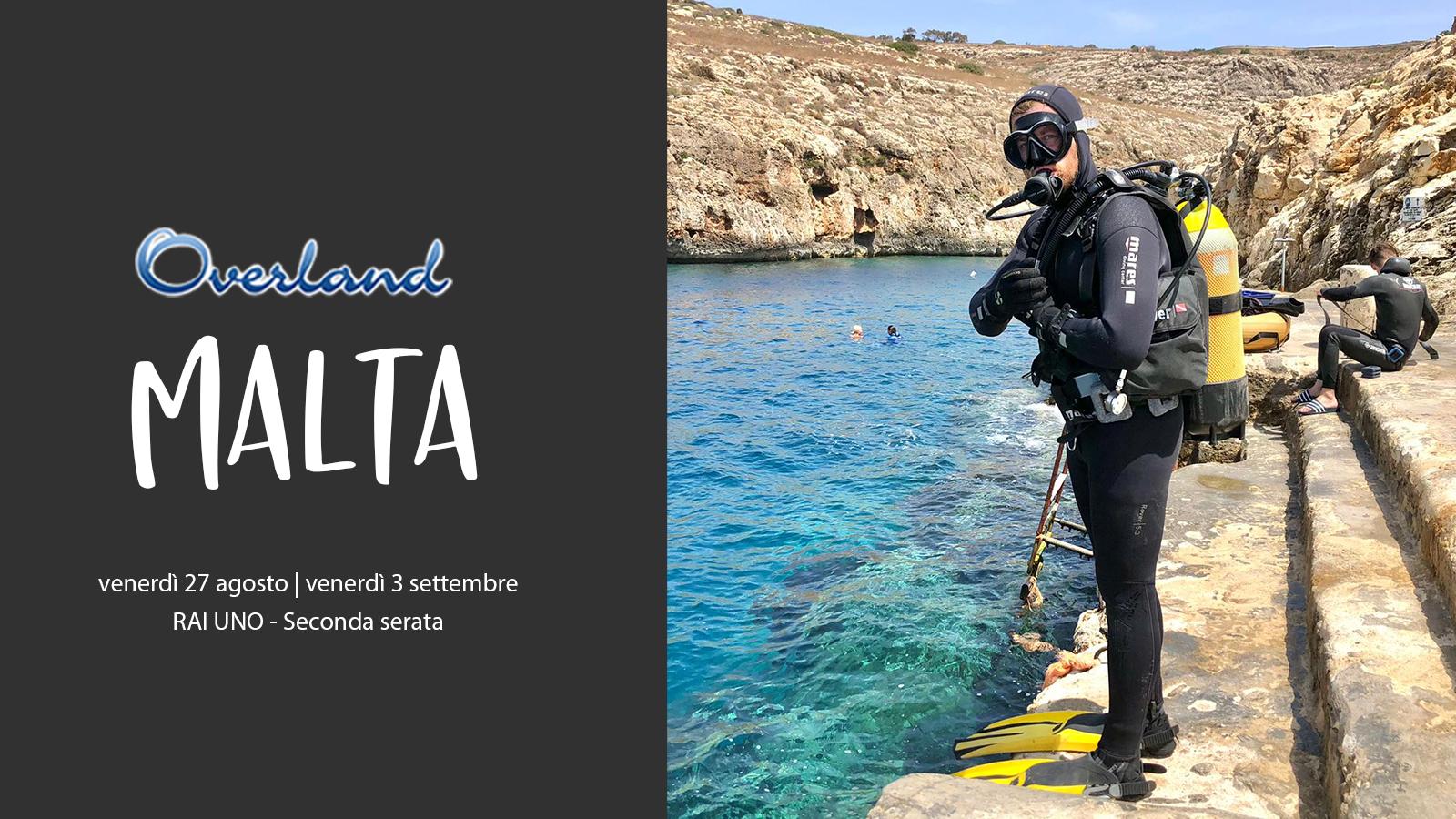 Overland sbarca a Malta, intervista a Filippo Tenti